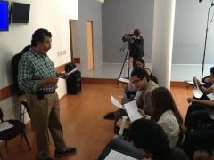 Salvador Sanches clases de actuación